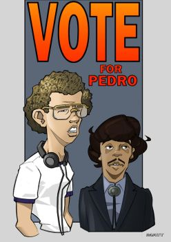 Vote For Pedro - Colors by scupbucket
