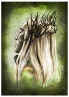 King Thranduil by JankaLateckova