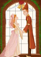A Merry Weasley Wedding by H-Maz
