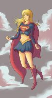 Supergirl by Marcos-A-Rodrigues