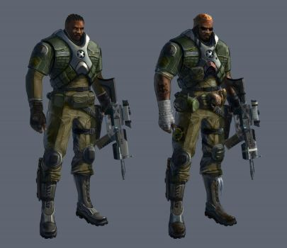 G-Force's XCOM Trooper (Male) by SolGravionMegazord