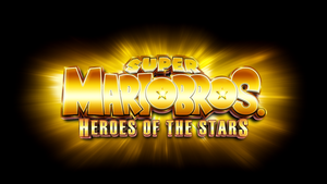 Super Mario Bros. Heroes of the Stars Logo by Mauritaly