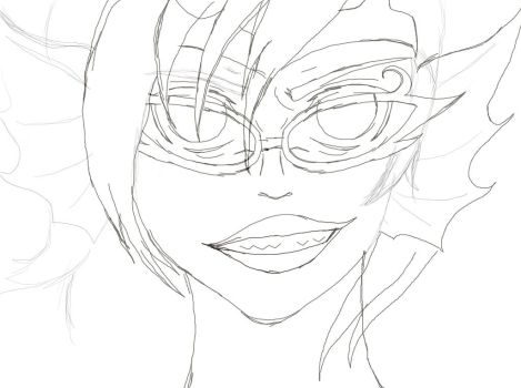 Her Imperious Condescencion WIP by mylazyweasel