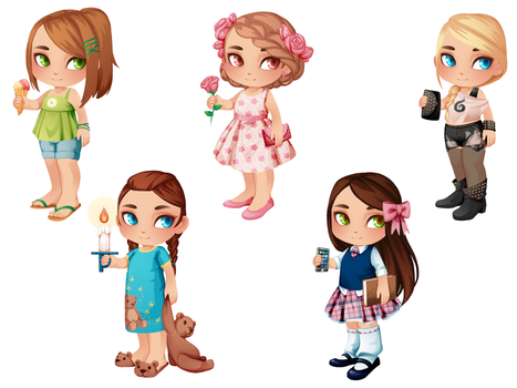 My Little Dollmaker - Casual by drawingum
