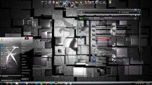 SilverX 7 theme for Windows 7 by X-ile2010