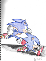 Racing towards the Future - Sonic 2016 by Bryce1350