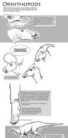 Ornithopods Webby Drawing Tutorial by sketcherjak