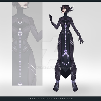(CLOSED) Adoptable Outfit Auction 265 by JawitReen