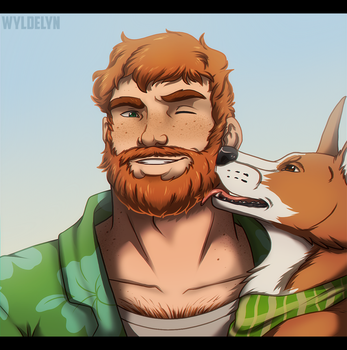 Dream Daddy - Brian by SabraeTrash