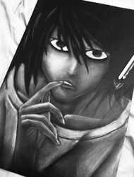 L. Lawliet by Avairo