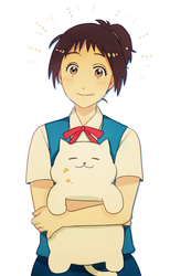 Haru and Tubbs by Cioccolatodorima