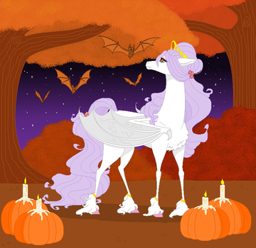 GIFT - Happy All Hallow's Eve, Alba by BambisParanoia