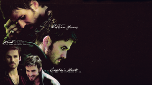 Wallpaper - Captain Hook/Killian Jones (OUAT) by chiaratippy