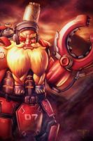 Overwatch - Torbjorn by AIM-art