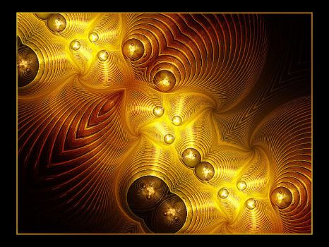 Swirls of Gold by Misty2007