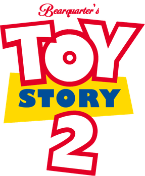 Bearquarter's Toy Story 2 Logo (2016) by Bearquarter2008