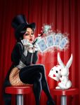 Passing time with Zatanna by Age-Velez