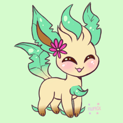 The Smallest leaf by Flufflix