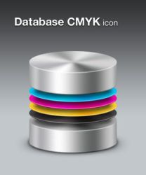 Database CMYK by barrymieny