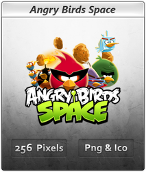 Angry Birds Space - Icon by Crussong