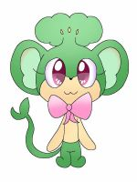 Clarra The Pansage Pokemon  oc