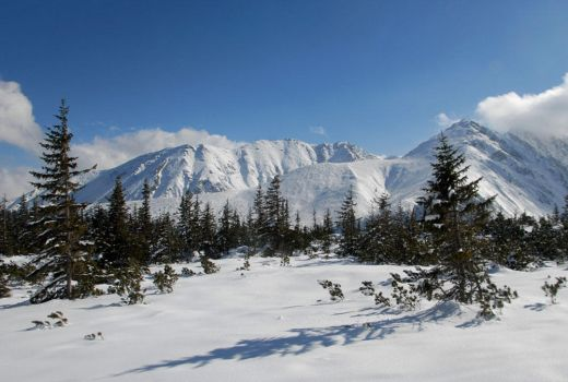 Tatra Mountain in the winter... by Mario666x