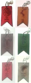 Game of Thrones Keychains FOR SALE! by LIV4TheObsession