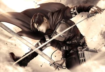 Levi the last battle by Redwarrior3