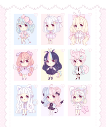 [OPEN 6/9] ~ Baby Adoptables: Set Priced #1 ~ by intheyuukei