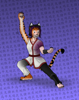 Chinese Zodiac TF - TIGER (7/12) by oldiblogg