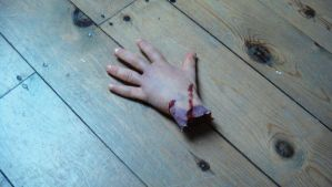 SFX Prosthetic Severed Hand by NJSFX
