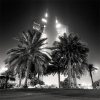 Dubai - Towers and Palms by xMEGALOPOLISx