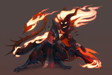 Comm| Heart of Flame by SunDier