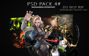 [Pack] #4 Psd and Render by MadaraBrek