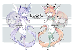 [ELIORE] Lavender n Pumpkin [AB ADDED!!] by rein-adopts