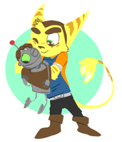 Ratchet N Clank by sky665