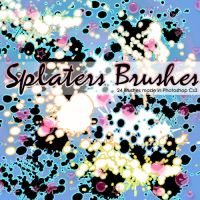 Splaters Brushes by Coby17