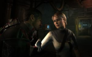 Nicole and Isaac, Dead Space 2 by IVG-105