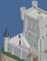 Working in a castle 2 by daporta