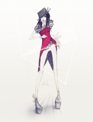 . 123 pose . by TheArta