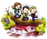 Team Free Will Goes Exploring by ghostfire
