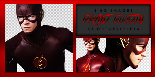 Grant Gustin PNG Pack #01 by OutOfStyle13