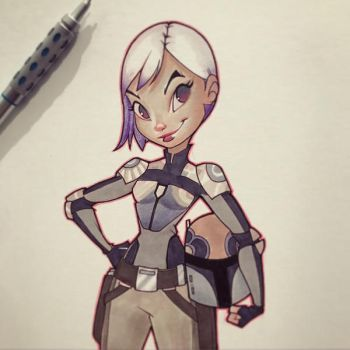 Sabine from Rebels by ChrissieZullo