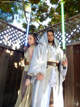 Master and Student- Luke and Rey by SunshineAlways
