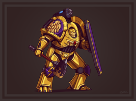 Shaa, the 4th Primarch by Blazbaros