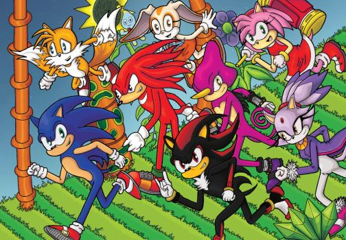 Sonic And Friends Colour by shaunC