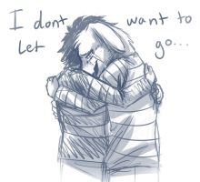 I don't want to let go... by RiverSpirit456