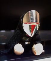 Sith outfit for a stuffed cat by Kiaserliche