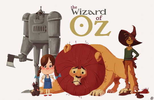 Wizard Of Oz by chillyfranco