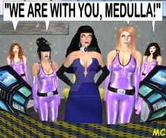 Medulla And Her Women by The-Mind-Controller